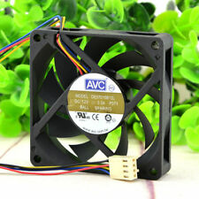AVC 7015 DE07015B12L Fan 12V 0.3A 4pin 70*70*15MM #M3730 QL