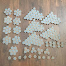 Heroscape Terrain Rock Hex Tiles Expand Your Battlefield game board LARGE LOT
