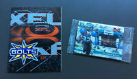 XFL FOOTBALL Pack of Sealed Cards and BIRMINGHAM BOLTS Program Gridiron NFL