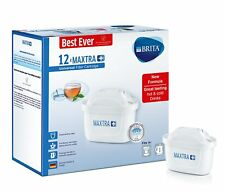 12 x BRITA Maxtra+ Plus Water Filter Jug Replacement Cartridges Refills