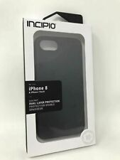 New Original Incipio DualPro Dual Layer Case Cover for iPhone 8 IPhone 7  Black