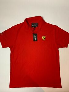 BNWT Ducati Ferrari Polo Shirt Medium Red