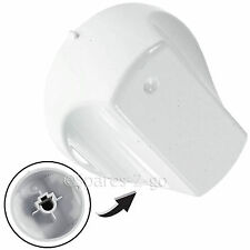 White Control Knob Switch for HOTPOINT Hot-Ari UH53 UH53W UH53WS Oven Cooker