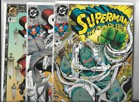 Superman: The Man of Steel  #18, #19 & Annual  #3  Lot of 3 (1992/93, DC Comics)