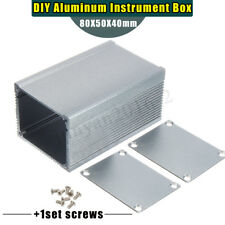 Aluminum PCB Instrument Enclosure Case Electronic Project Box DIY