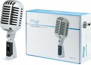 Stagg SDMP40CR 50s Style Microphone