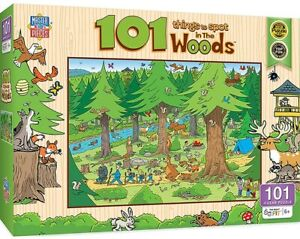 Masterpieces - 101 Things to Spot in the Woods Jigsaw Puzzle (101 Pieces)