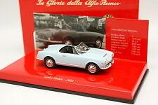 Minichamps 1/43 - Alfa Romeo Giulia Spider Bleue 1962