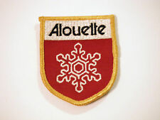 Vintage NOS Alouette Snowmobile Medium Patch