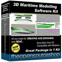 Professional Design Software 3D Modelling Kit-Learn How To Create Model Ships