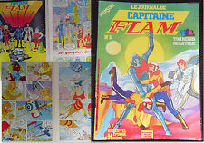 BD le journal de capitaine flam n°6 de 1981