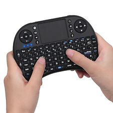 2.4GHz Mini Wireless Keyboard with Touchpad for Panasonic TX-65DX902B Smart TV
