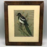 "Vintage 11-1/2""x13-1/2""  Wood Picture Frame"