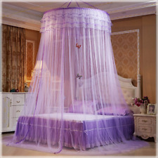 Bed Canopies Shelter for Girls Kids Bedroom Decorations Purple Color Bed