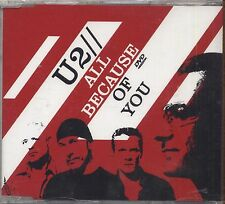 U2 - All because of you - DVD SINGLE 2005 SIGILLATO SEALED