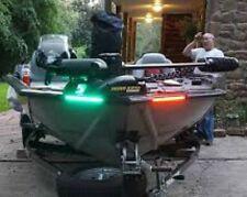 Bass Boat Bow / Navigation Lights RED & GREEN LED 10oc LED