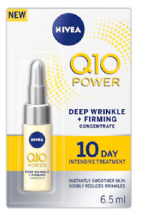 Nivea Q10 Power Deep Wrinkle + Firming 10 Day Intensive Treatment 6.5ml - Sealed