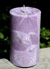 Large Lavender Decorative Candles