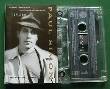 Paul Simon Negotiations & Love Songs inc Still Crazy + 2on1 Cassette Tape TESTED