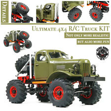Kingkong RC 1/12th Q157 Mud Monster 4x4 Soviet Truck w/Metal Chassis KIT Set