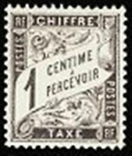 Timbres noirs avec 10 timbres