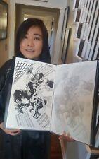 Deadpool Kills the Marvel Universe Again Original Comic Art Spider-Man vs Venom
