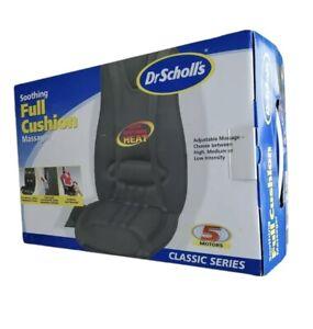 Dr Scholls Full Cushion Massager Soothing 5 Motor DR8573 Electric Back Massage