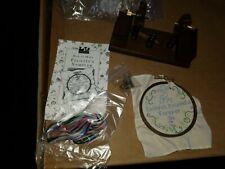 American Girl Felicity Doll Needlework Kit & Frame Embroidery Hoop