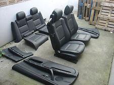 Incl. transformación bmw e93 cabrio cuero equipamiento asientos de piel equipamiento escaños negro