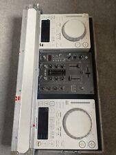 pioneer cdj 350 pair + pioneer djm 400 mixer + flight case + cables