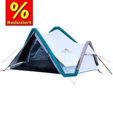 3 XL Klima-Campingzelt Air Seconds Fresh & Black, QUECHUA, Festivalzelt Wacken