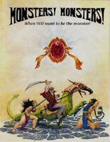 Tunnels & Trolls- Monsters! Monsters! RPG FBI 9102