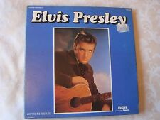 "ELVIS PRESLEY superb three x 12"" LP French box-set ""Elvis Presley"", EX/EX"