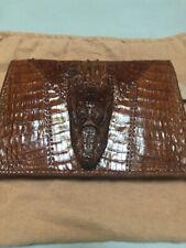 Vintage Genuine Baby ALLIGATOR Purse Bag Handbag, 1940s Crocodile Ladies Handbag