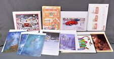 Lot of 16 Assorted Christmas Cards Envelopes Winter Holiday Red Truck Globe