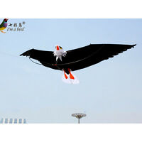 New 2m 78-Inch 3D Eagle Kite Power Stunt eagle kites Outdoor fun Sport  Toys