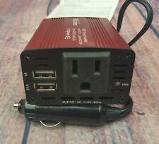 Bapdas 150W Car Power Inverter DC 12V to 110V AC Car Converter with 3.1A Dual