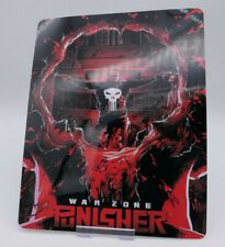 PUNISHER WAR ZONE - Glossy Bluray Steelbook Magnet Cover (NOT LENTICULAR)