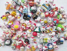 New Original Sanrio Hello Kitty Mini Figures Charms 10pcs Random