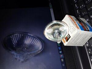12V Halogen Bulbs MR16 w/ Cover Glass GU5.3 2-Pin 20W BAB Lamp