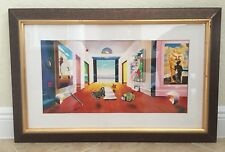 "FERJO-HALLWAY TO INFINITY LITHOGRAPH SIGNED & NUMBERED 30 3/4"" x 20"""