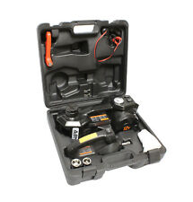 Abn Electric 3 Ton Car Hydraulic Floor Jack Tire Inflator Gauge Impact Wrench
