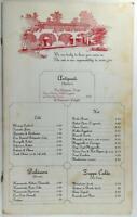 1980's Original Big Menu VERDI'S OF BOCA Italian Restaurant Boca Raton Florida
