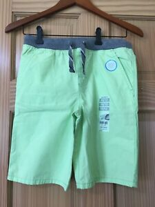 New Carter's Boy Neon Green Pull-On Shorts many sizes