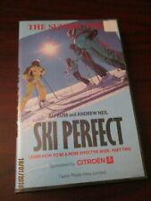 Sunday Times Ski Perfect  VHS Video Tape (BIG BOX)