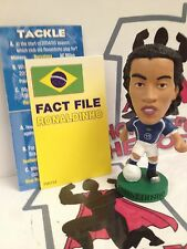 CORINTHIAN PROSTAR BRAZIL AWAY KIT RONALDINHO PR069 LOOSE WITH CARD
