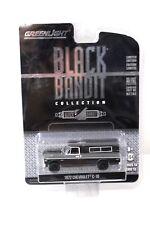 1:64 Greenlight CHEVROLET c-10 1972 * BLACK Bandit * New in Premium MODELCARS
