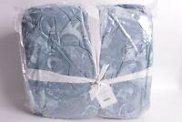 NWT Pottery Barn Scarlett comforter f/q FQ full queen blue quilt