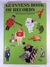 1974 Guinness Book Of Records With Australian Supplement - 21st Edition