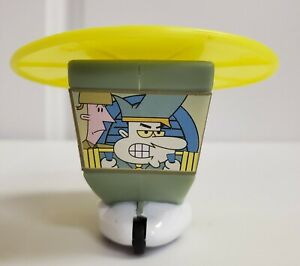 Subway Kid's Meal Toy 2001 Cartoon Network SECRET Military Helicopter toy